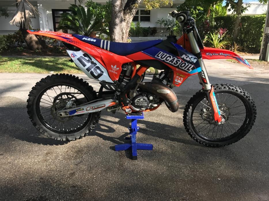 ktm 125 sx motorcycles for sale in miami florida. Black Bedroom Furniture Sets. Home Design Ideas