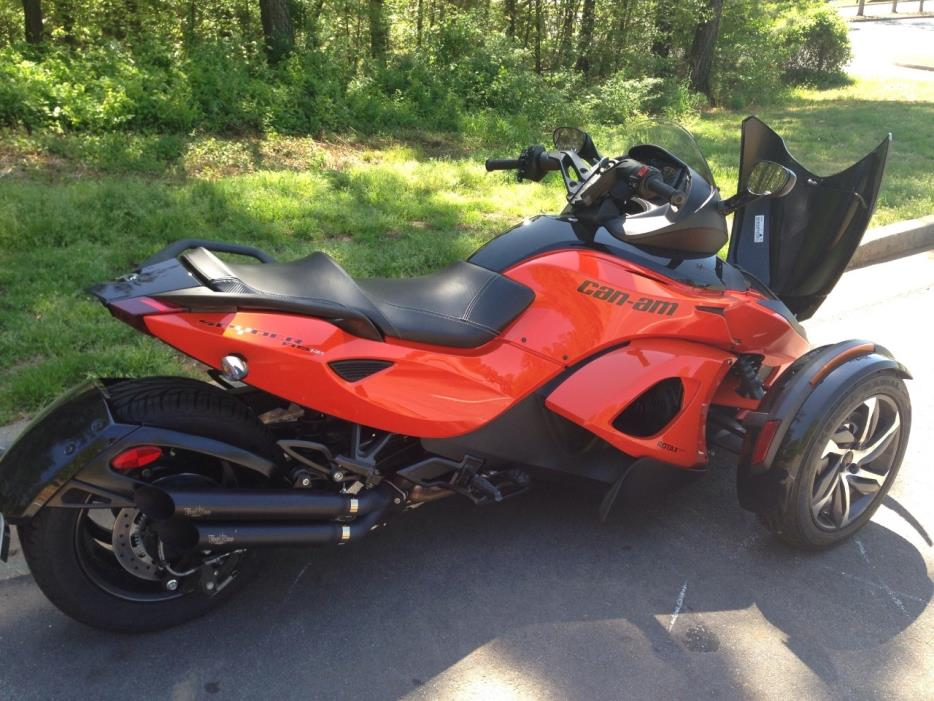 can am spyder rs s special series se5 motorcycles for sale. Black Bedroom Furniture Sets. Home Design Ideas