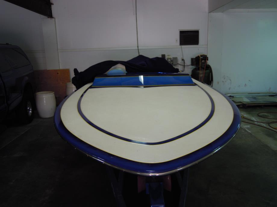 2003 Schiada 21 foot river cruiser