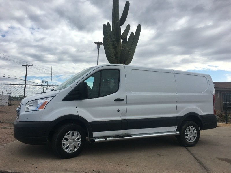 2016 Ford Transit Cargo Van T-250 130 Low Rf 9000 GVWR Swing-Out RH Dr