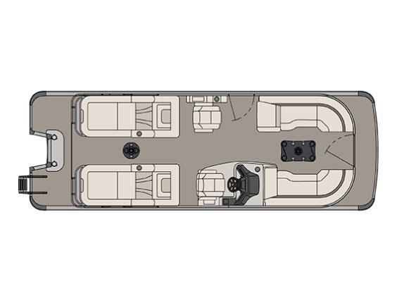 2017 Avalon Ambassador Rear Lounge - 25 ft.