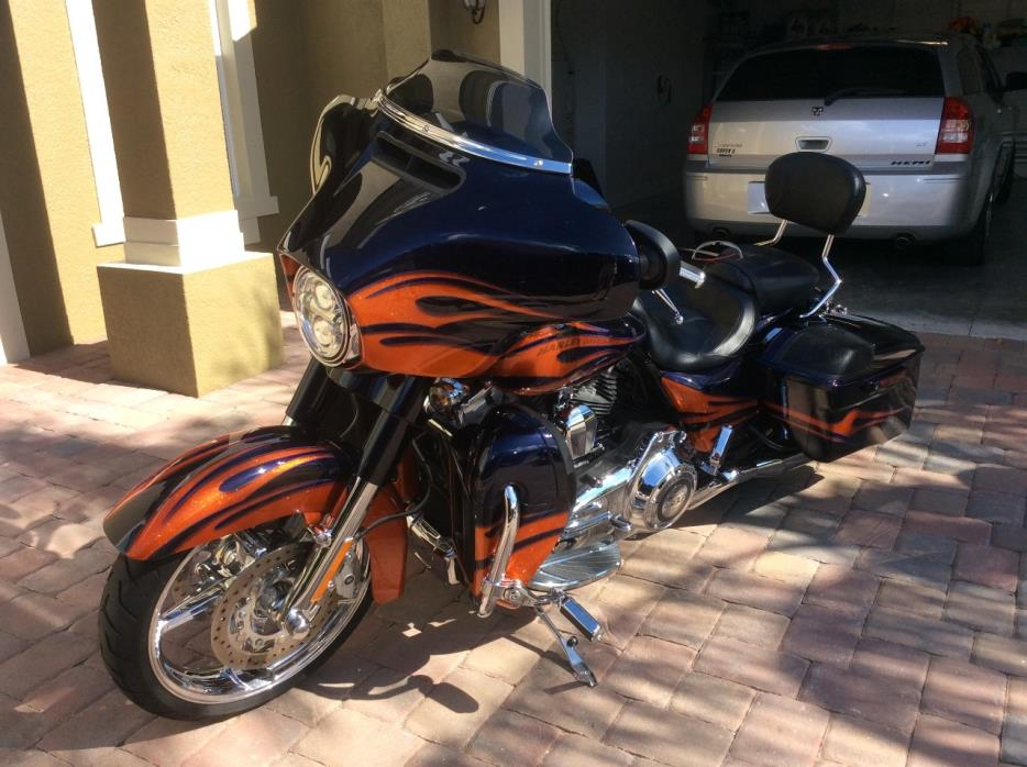 Harley Davidson Street Glide Cvo Motorcycles For Sale In