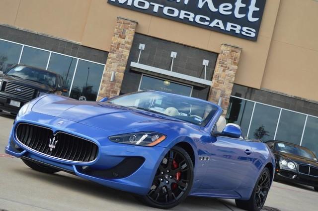 2014 Maserati GranTurismo Convertible Sport * RARE COLOR * CARFAX CERTIFIED * PRISTINE COND * MK OFF