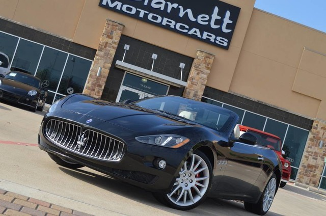 2013 Maserati GranTurismo Convertible 20 TRIDENT WHLS * CARFAX CERT * FACTORY WARRANTY