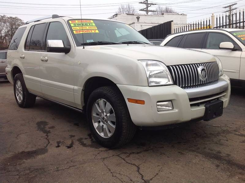 2006 Mercury Mountaineer Premier AWD 4dr Crossover