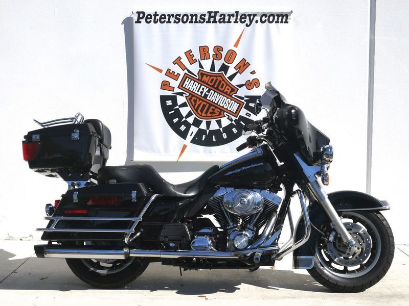 2005 Harley-Davidson Police & Fire Electra Glide Fire/Rescue