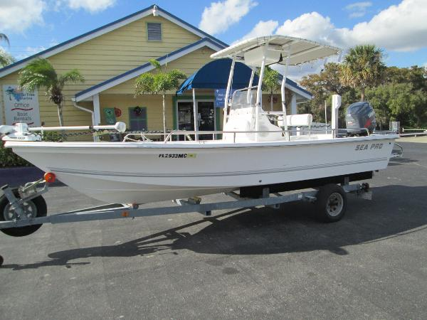 Sea Pro Boats Sv 2100 Bay Boat Boats For Sale