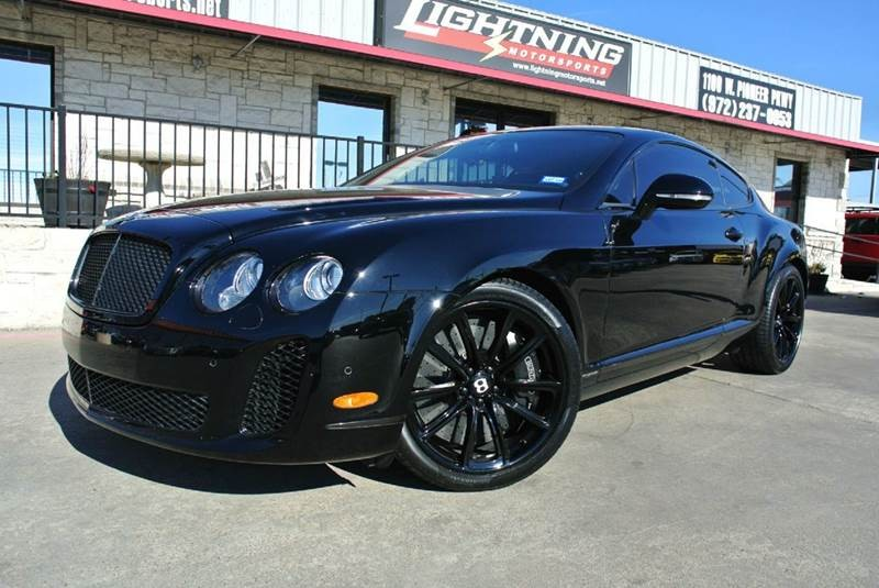 2011 Bentley Continental Supersports Base AWD 2dr Coupe
