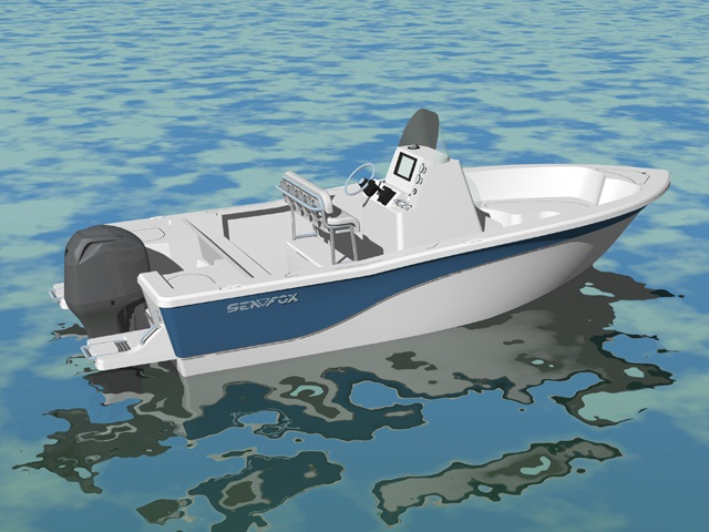2013 Sea Fox 209 Commander
