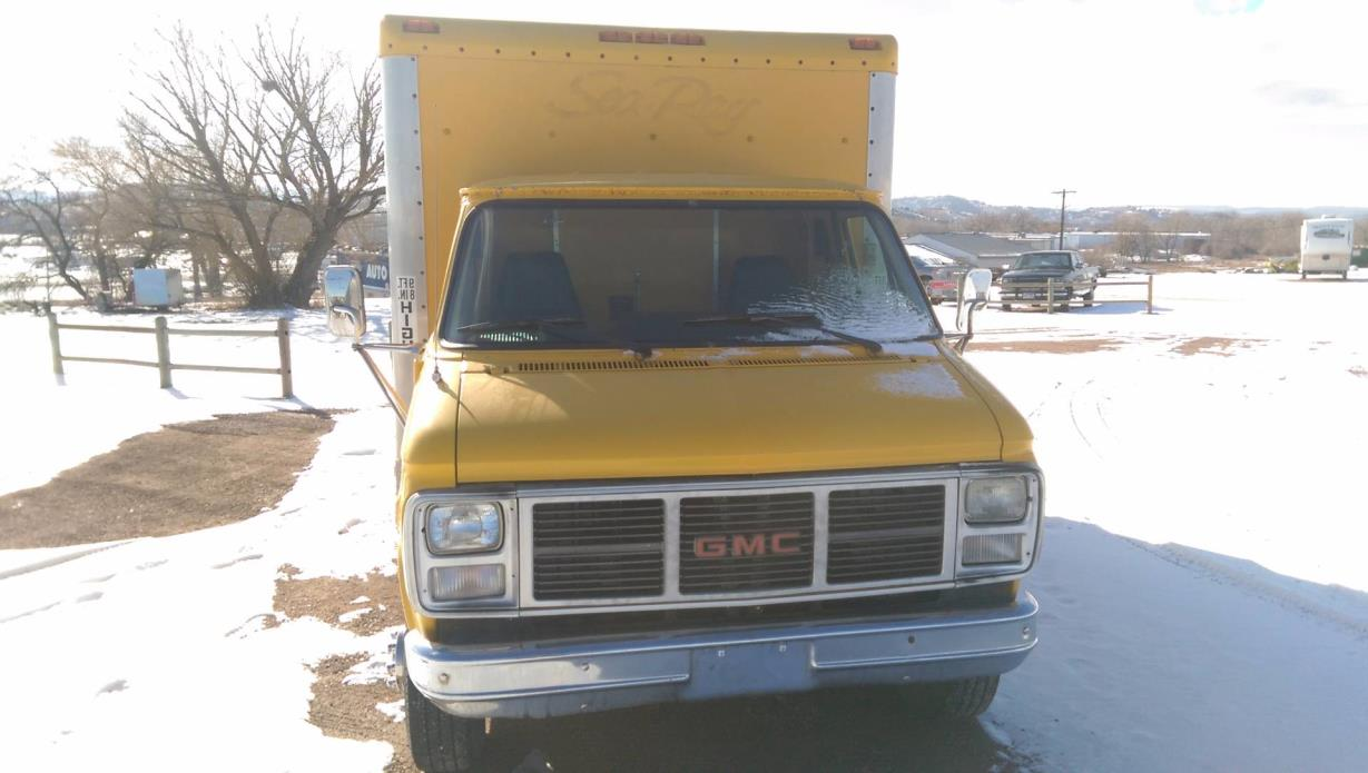 1988 GMC G3500 BOX VAN