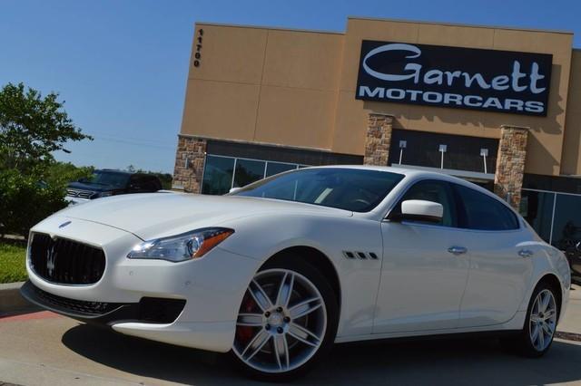 2014 Maserati Quattroporte GTS V8 * WHITE/TAN * WE FINANCE