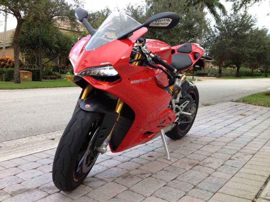 2012 Ducati SUPERBIKE 1198 S