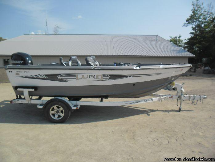 2012 Lund Tyee 1850 with Mercury 175hp 6025