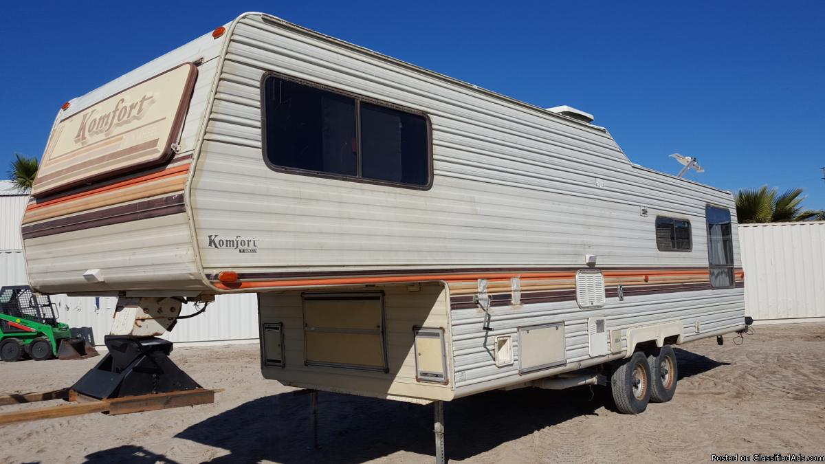 Komfort Travel Trailer Floor Plans