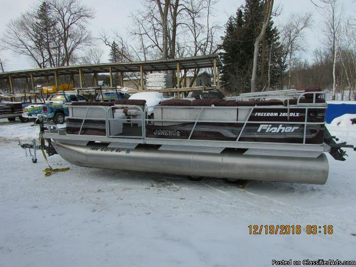 1993 Fisher Freedom 200DLX 20' 6680