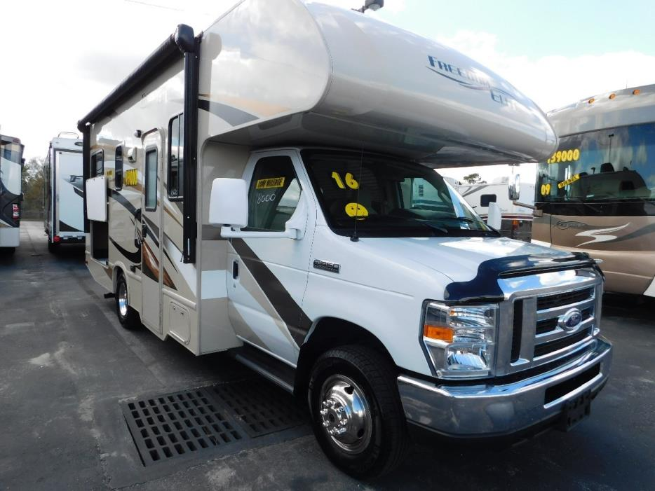 2016 Thor Motor Coach FREEDOM ELITE 23H CLASS C 1-OWNER 8049 MILES NICE