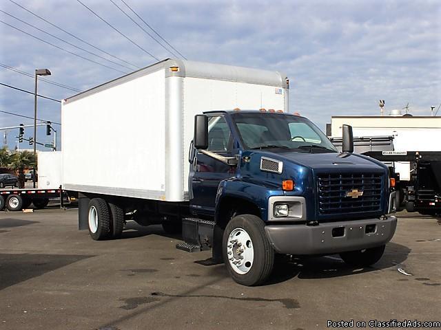 #6115: 2005 CHEVROLET C7500 20 Ft. Box Truck