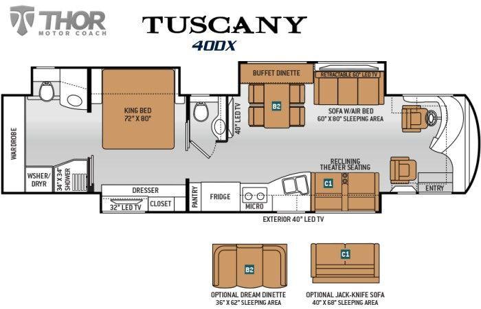 2017 Thor Tuscany 40DX