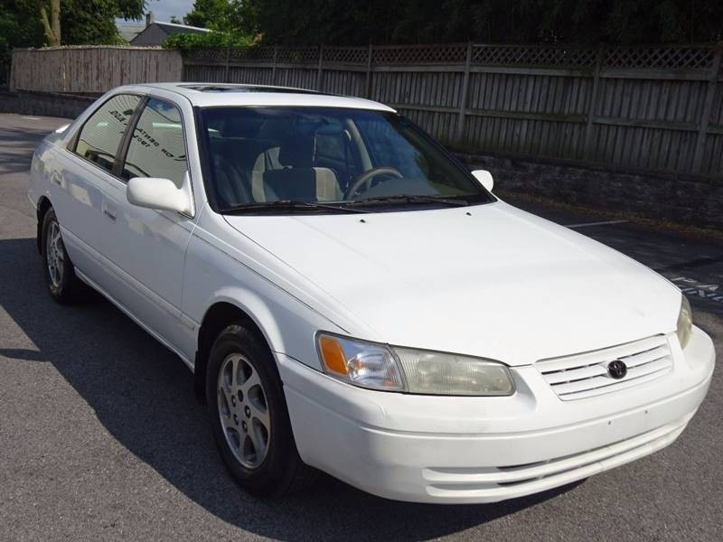 1998 toyota camry owners manual
