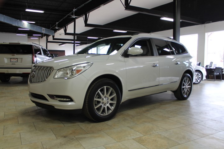2017 Buick Enclave Leather W/PANORAMIC ROOF/CAPTAIN CHAIR