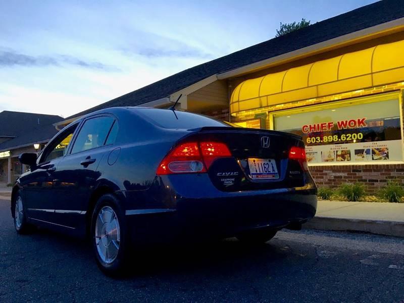 2006 Honda Civic Hybrid 4dr Sedan