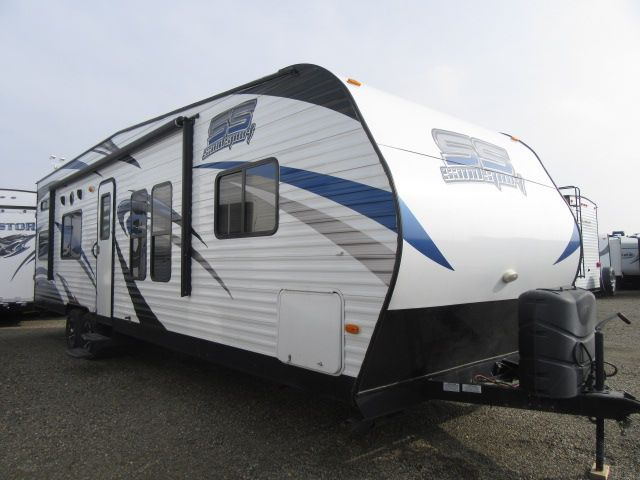 2015 Pacific Coachworks Sandsport 27FBX 4.0 Onan Generator/