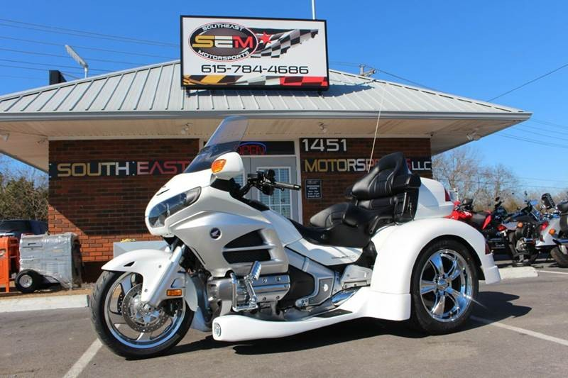 2012 Honda GL18HPNMC GOLDWING TRIKE