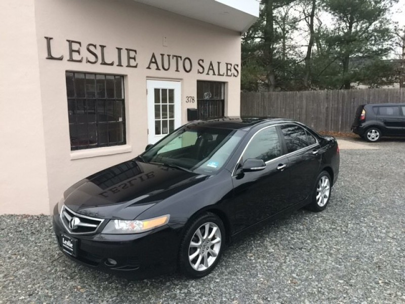 2008 Acura TSX Base 4dr Sedan 5A