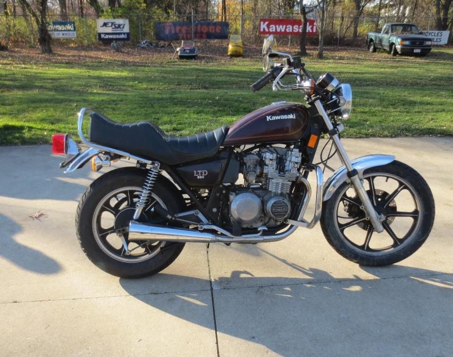 kawasaki ltd 550 motorcycles for sale
