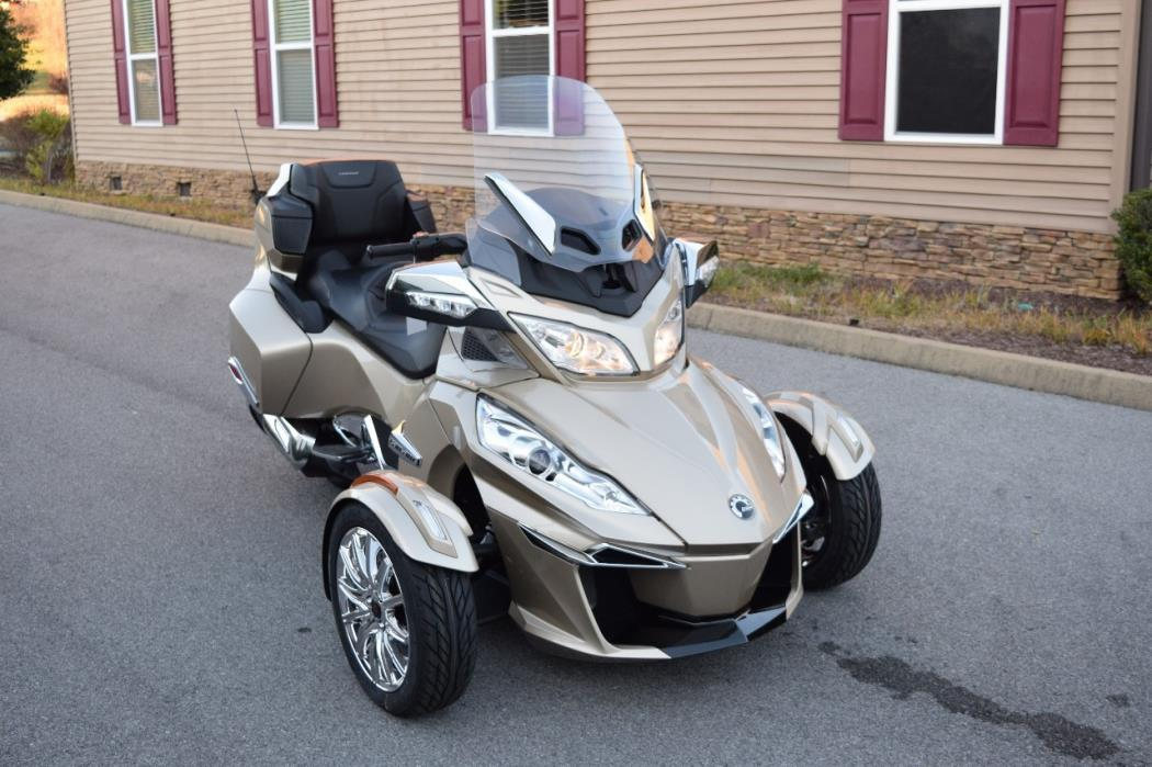 2017 Can Am Spyder Rt Limited Champagne Metallic