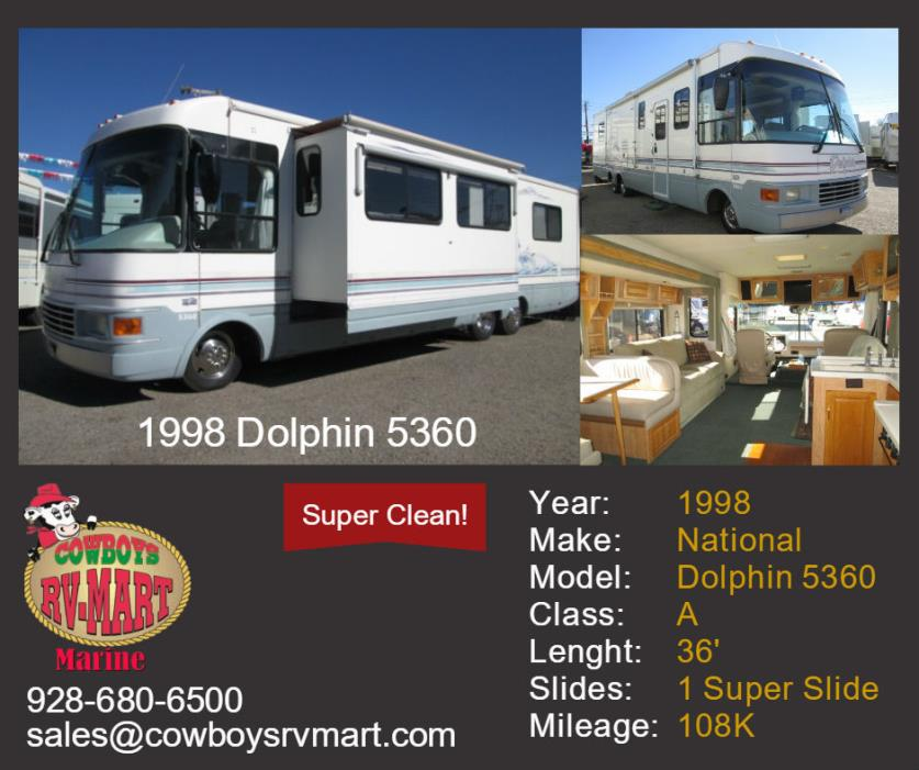 1998 National DOLPHIN 5360