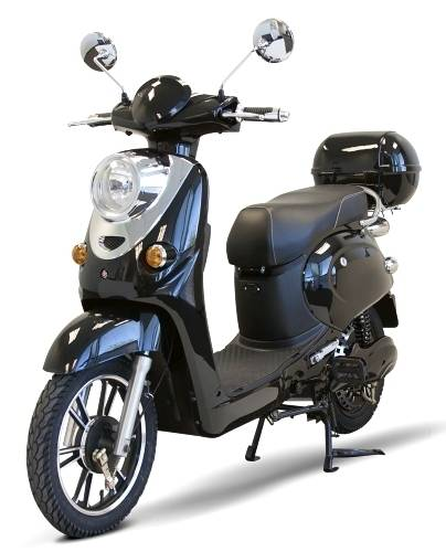 2016 Gsi 600 Watt 48 Volt E-Bike Electric Moped Scooter w/Brushl