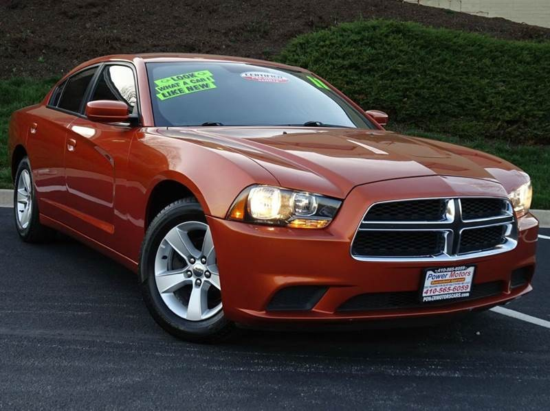 2011 Dodge Charger Rallye 4dr Sedan