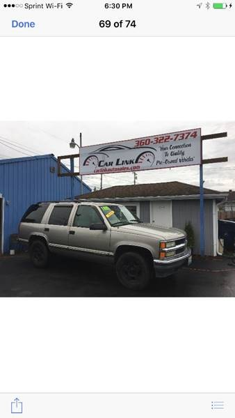 1999 Chevrolet Tahoe LS 4dr 4WD SUV