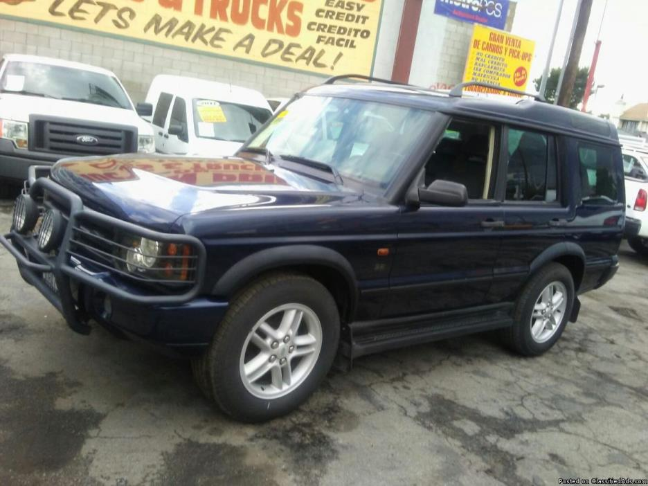 2003 Landrover Discovery