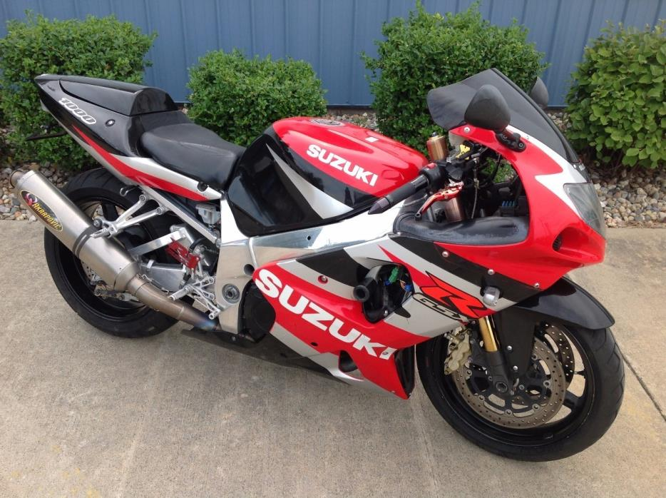 Gsxr 1000 2002 Motorcycles for sale