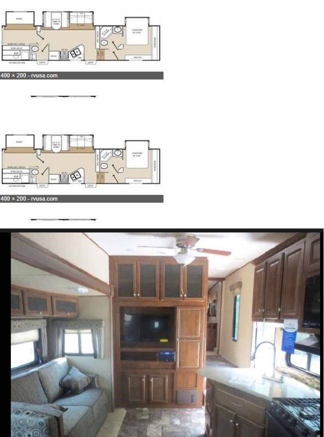 2013 Coachmen CHAPARRAL BHS345
