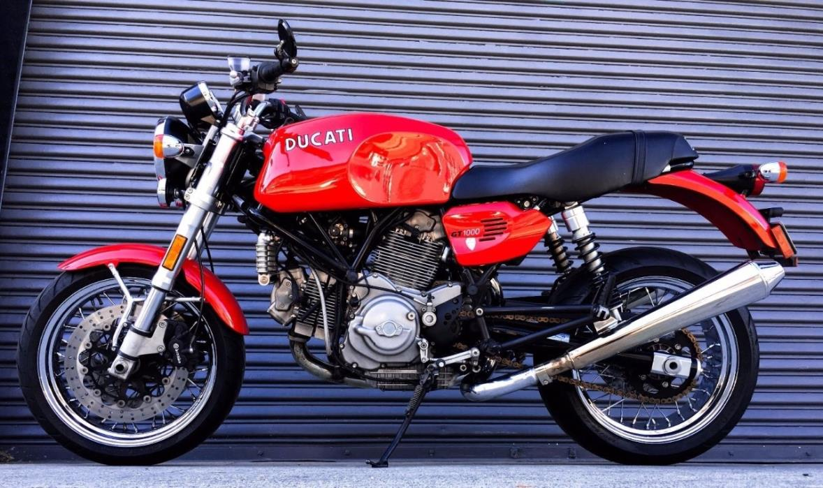 Ducati Gt 1000 Sport Classic Vehicles For Sale
