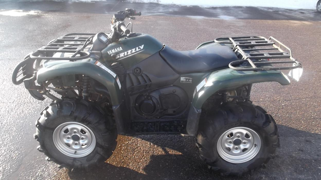 Yamaha grizzly 660 4x4 auto motorcycles for sale for 2006 yamaha grizzly 660 value