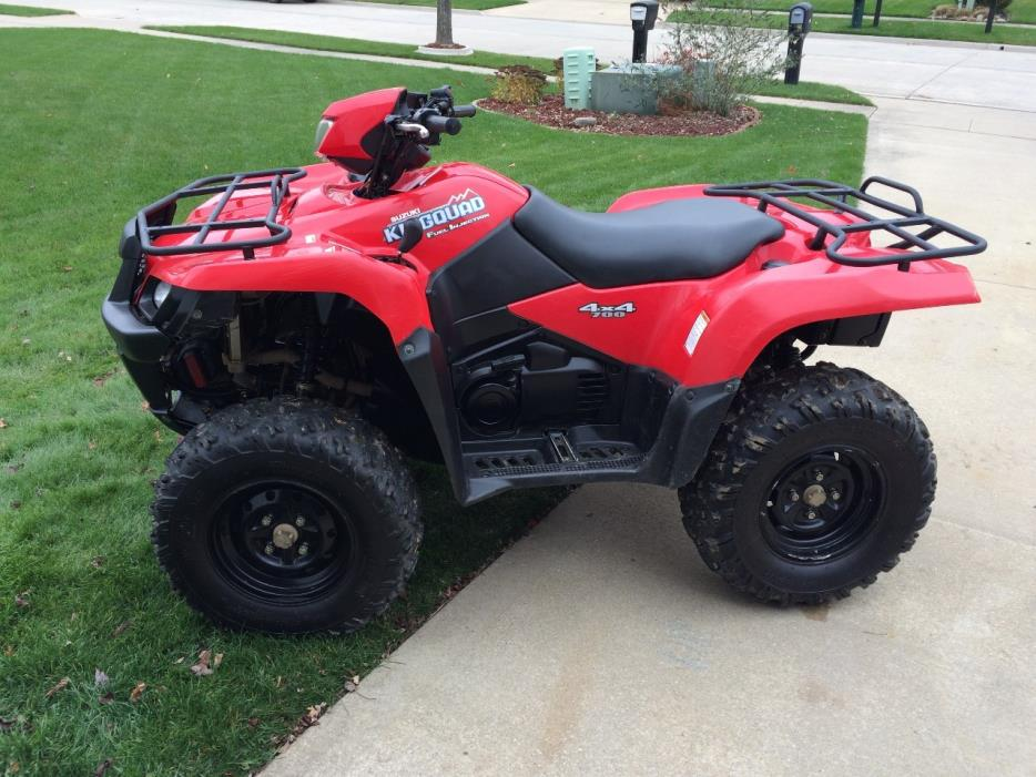 Suzuki Kingquad 700 4x4 Motorcycles for sale