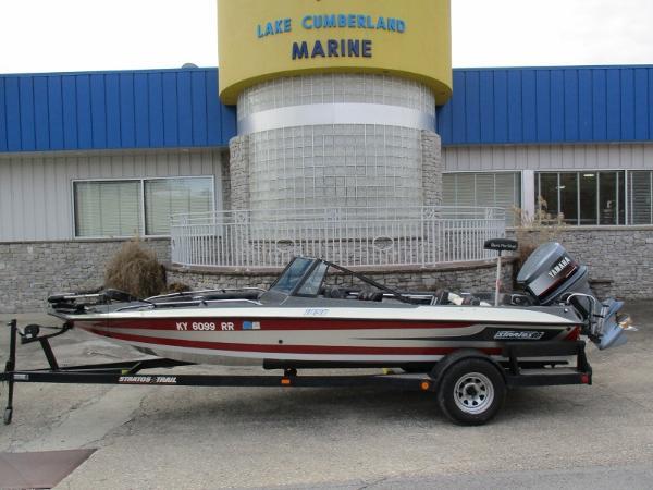 1987 Stratos 189 Fish & Ski