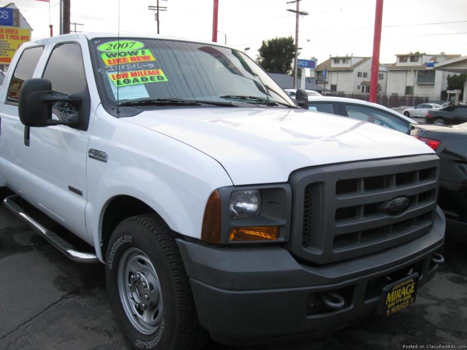 2007 Ford F-350 Utility Diesel Truck