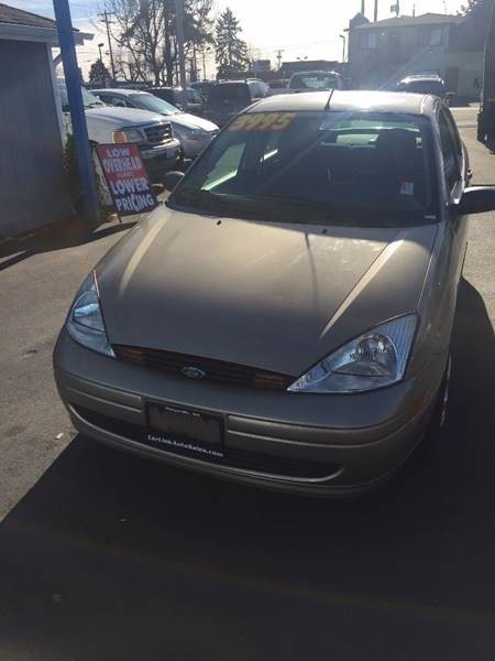 2002 Ford Focus LX 4dr Sedan