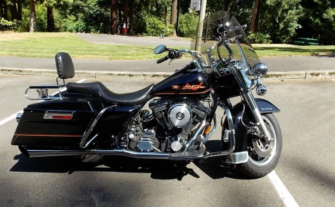 1995 harley davidson road king motorcycles for sale. Black Bedroom Furniture Sets. Home Design Ideas