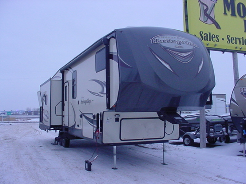 2017 Forest River Wildwood Heritage Glen 368RLBHK
