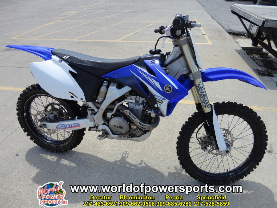 Yamaha yz450fyw yz450f motorcycles for sale in illinois for Yamaha yz450f for sale