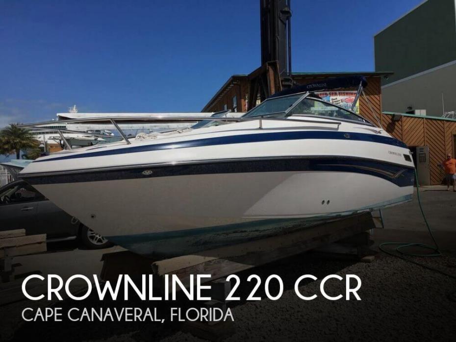 2004 Crownline 220 CCR