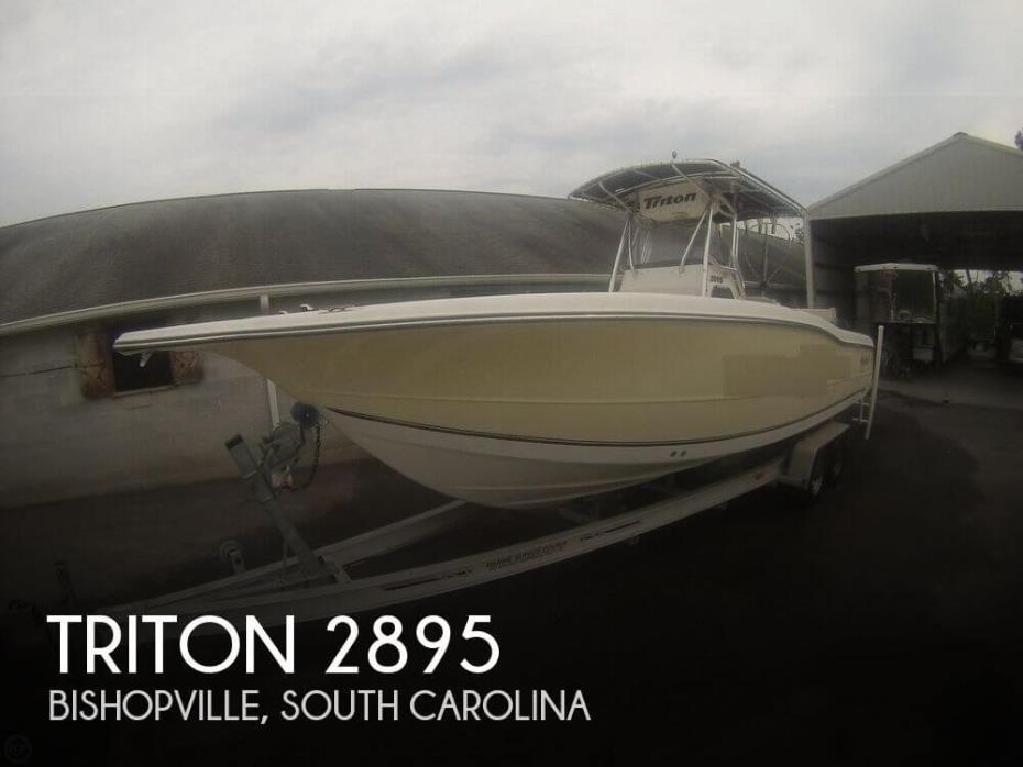 2004 Triton 2895