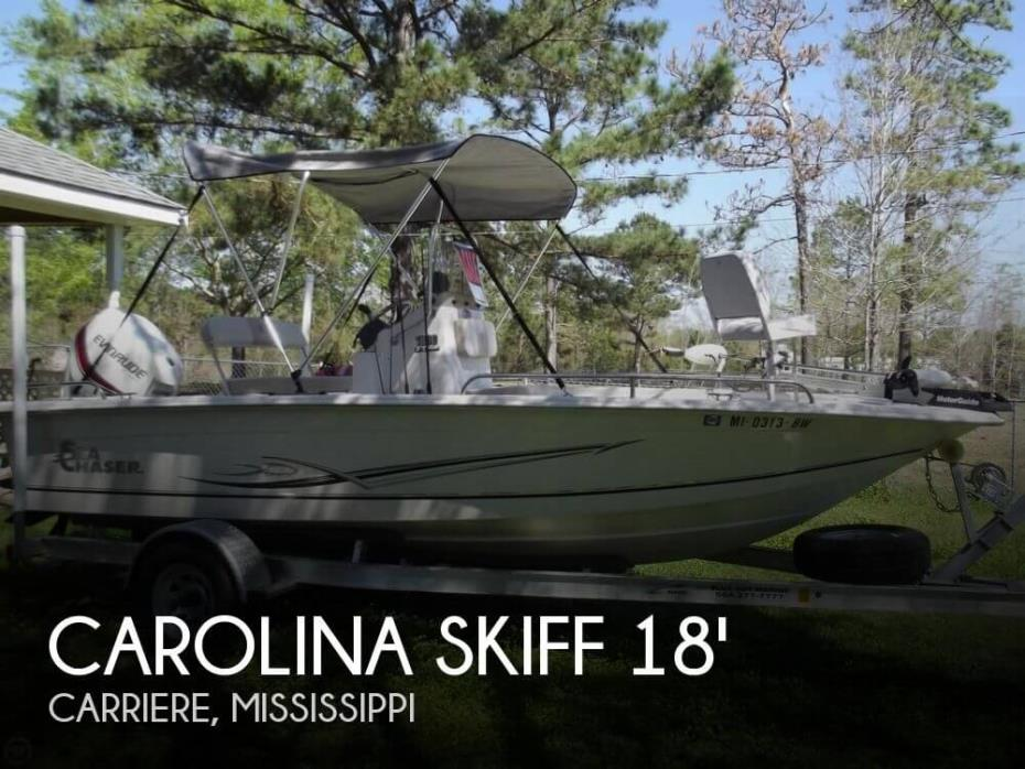2014 Carolina Skiff Sea Chaser 180 F