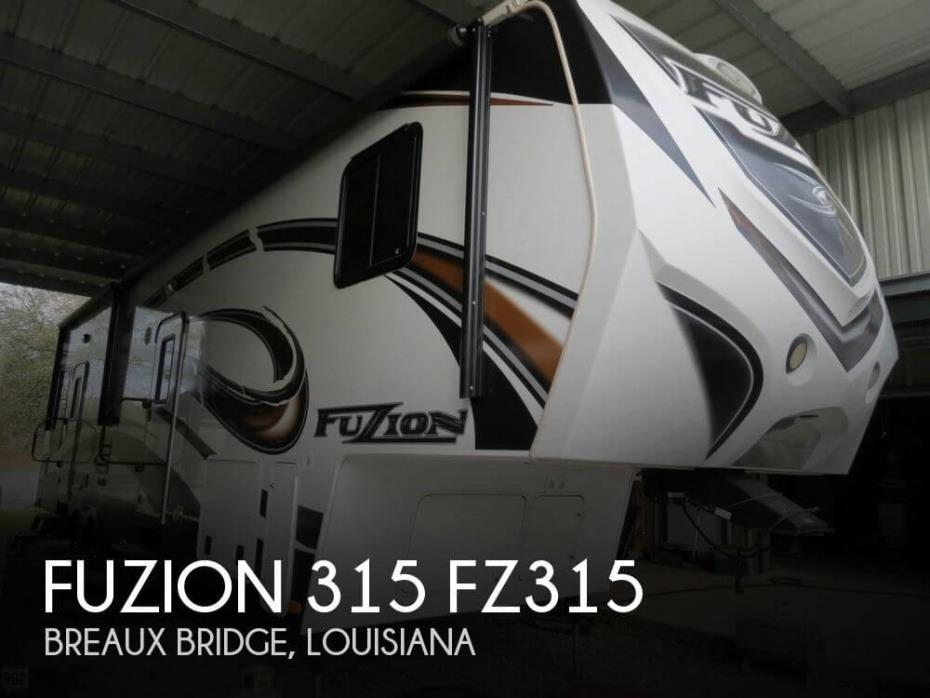 2013 Keystone Fuzion 315 FZ315
